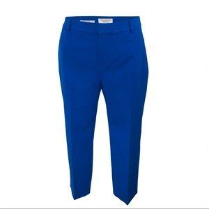 Royal Blue Newport Slim Crops size 16 - NWOT!